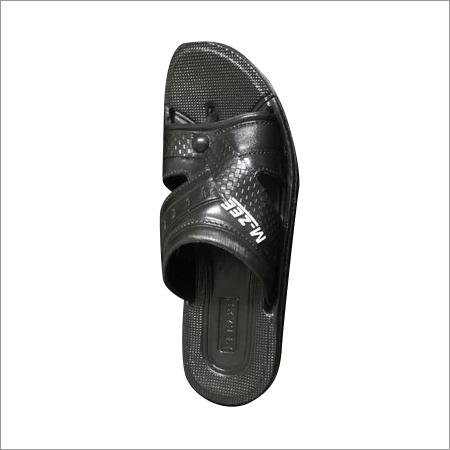 Mens Black EVA Slipper