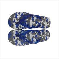 Men Printed Rubber Slipper