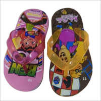 Kids Carton Print Rubber Slipper