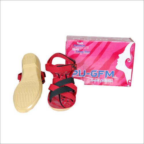 Ladies Fancy PU Sandal