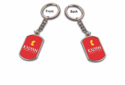 Rectangle Sublimation Keychain