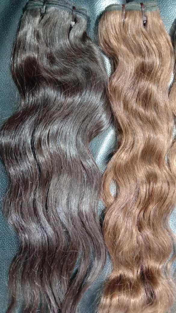 Virgin wavy Long Hair