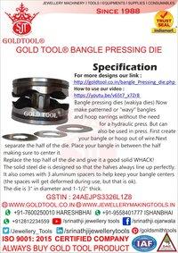 jewellery bangle pressing dies (wakiya dies