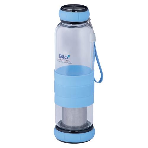 Antioxidant Alkaline Antibacterial Mineralising Glass Water Bottle