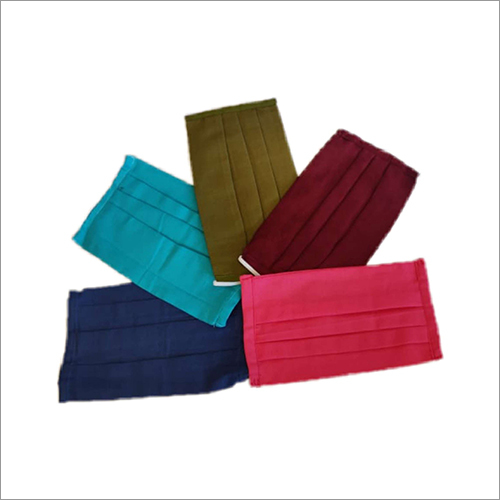 Cotton Reusable Masks 100 Pcs Set Elastic Straps With Two Layers Of Fabric