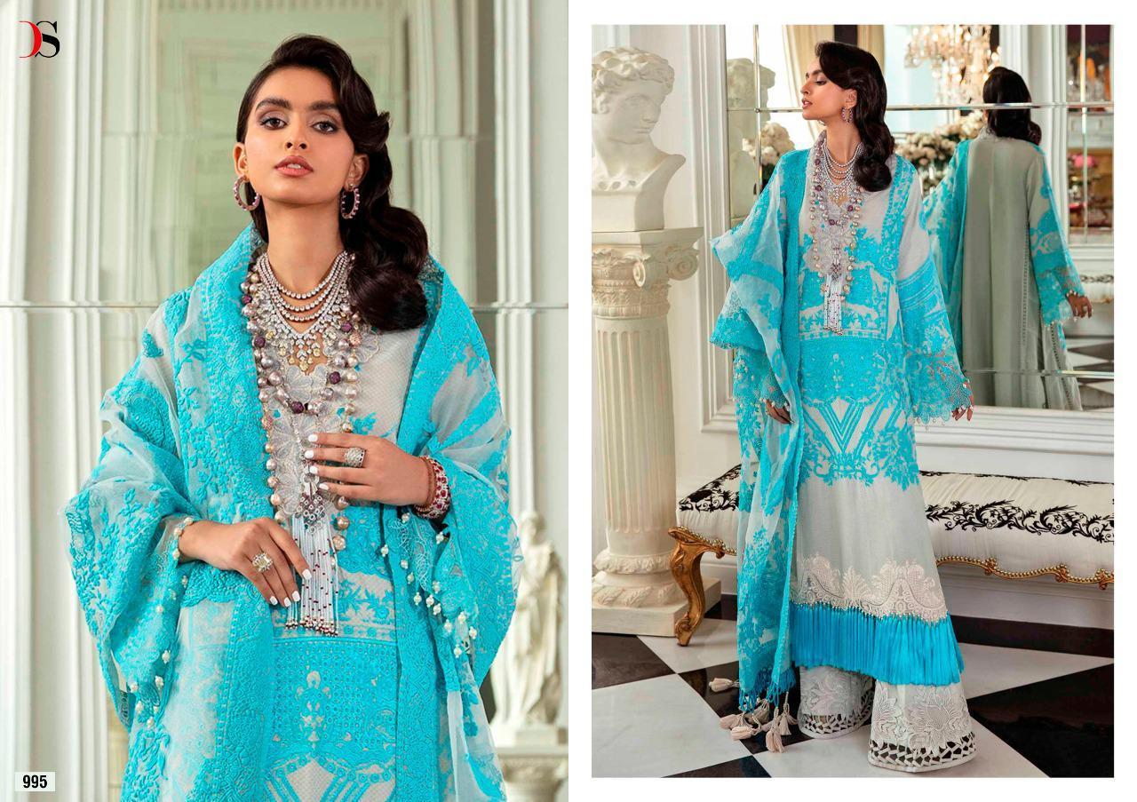 Deepsy Suits Sana Safinaz Lawn Vol 21-2 Cotton Printed Pakistani Dress Material Catalog