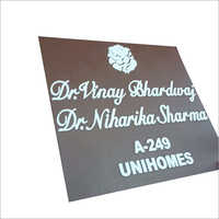 House Or Home Name Plates