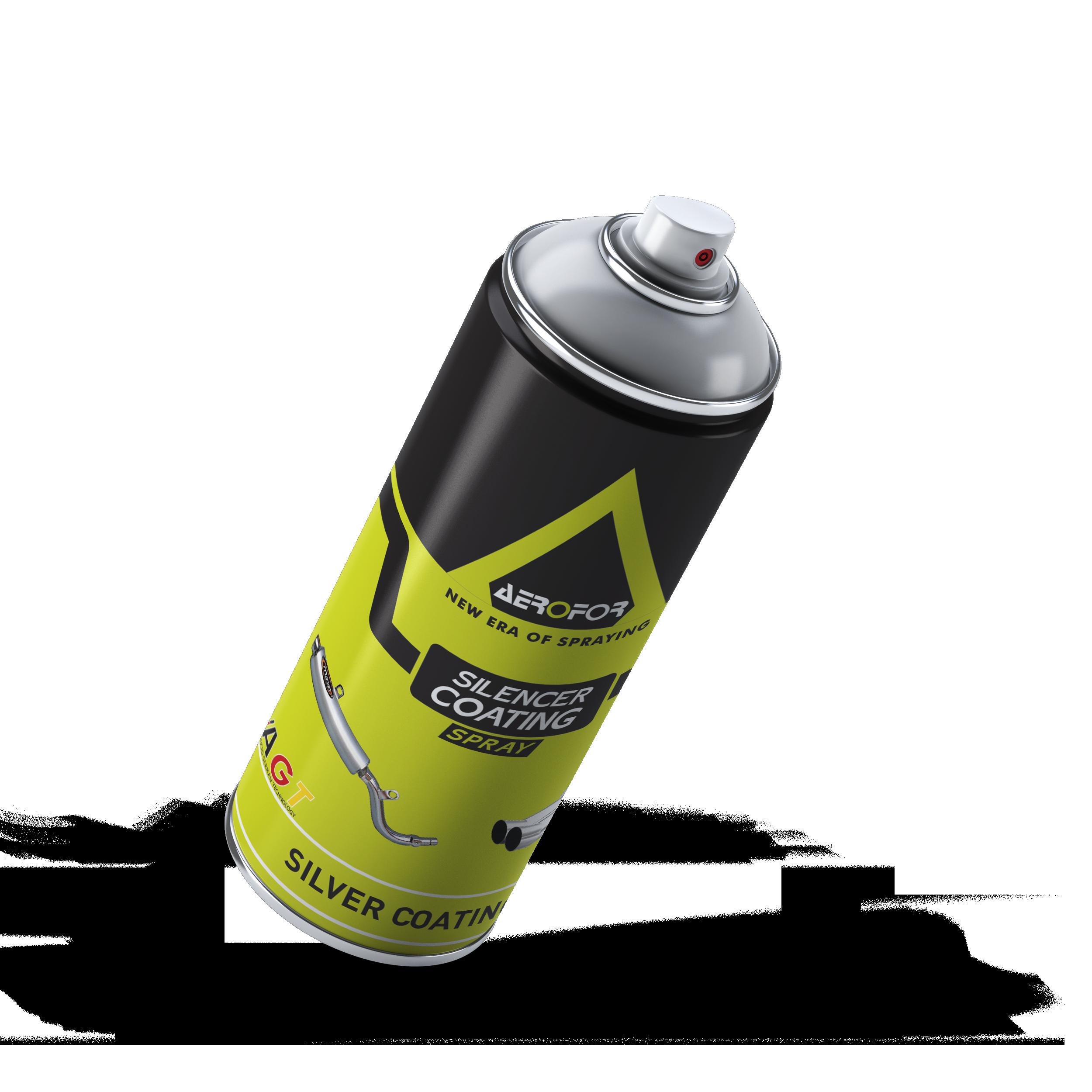 Silencer Coating Silver Spray