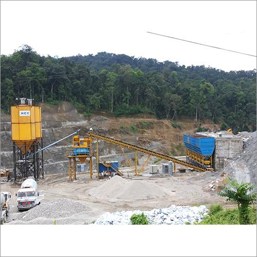 Industrial Portable Concrete Batching Plant