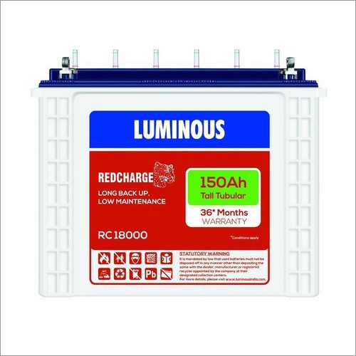 Luminous 150AH Tubular Battery