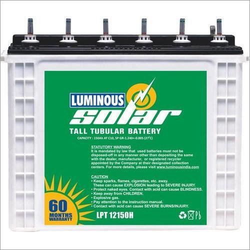 Luminous Solar 150AH Tubular Battery