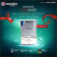 Nasaka Sanisafe Automatic Hand Sanitizer Dispenser
