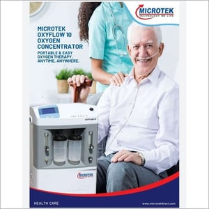 Microtek Oxyflow 10 Oxygen Concentrator