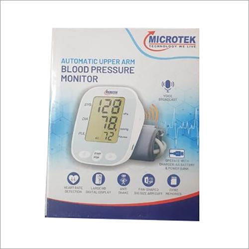 Microtek Automatic Blood Pressure Monitor