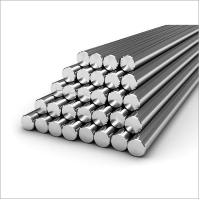 Silver Stainless Steel Round Bar 316 Ti