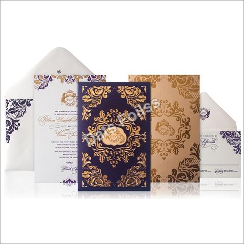 Wedding Card  Foils