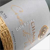 Matt Gold Bottle Foils