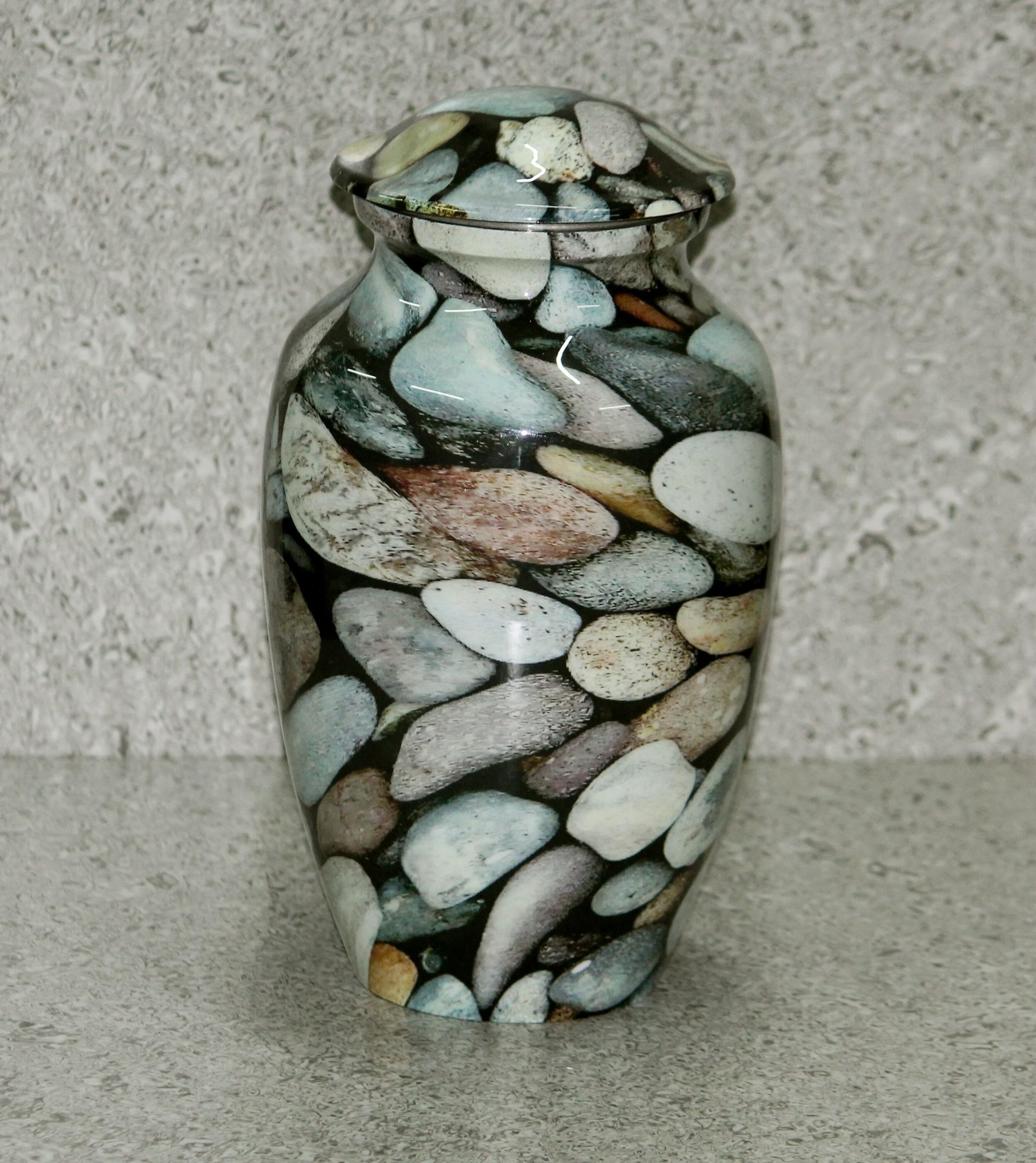 Aluminum Sea Stone Urn