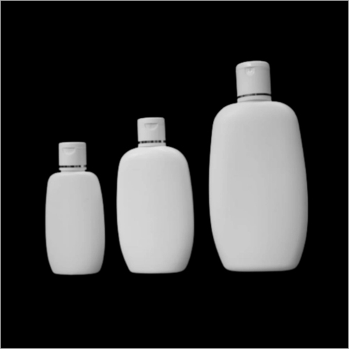50ml - 100ml 200ml HDPE Oval Shape Baby Lotion Shampoo Bottle