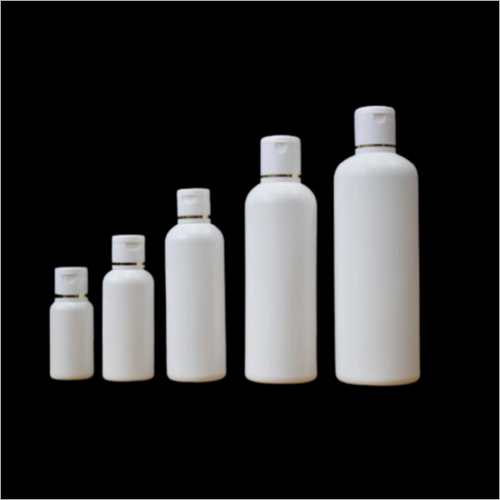 30ml - 50ml 100ml - 200ml 300ml HDPE Round Shape Cosmetic Bottle With Fliptop Cap