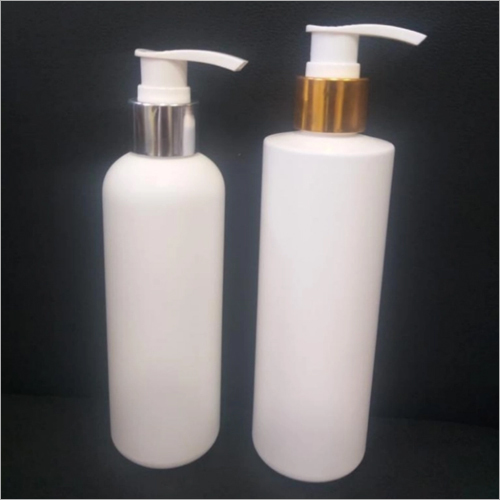 200ml - 300ml HDPE Cosmetic Lotion Shampoo Bottle With Lotion Pump