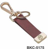 Hook Leather Keychain