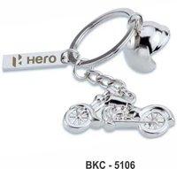 Classic Bike & Helmet Keychain