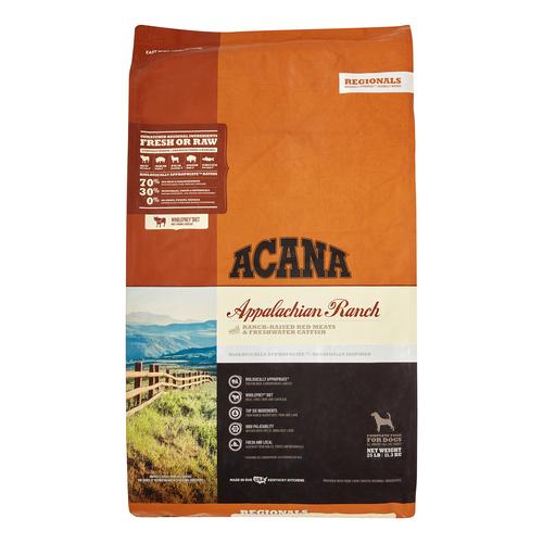 Acana Appalachian Ranch Dry Dog Food, 25 Lbs