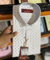 Mens Dotted Print Shirts