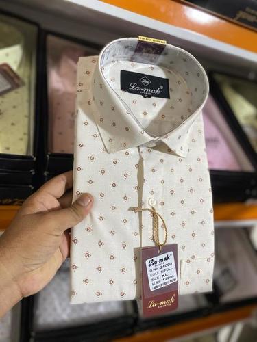 Men Printed Cotton Shirts