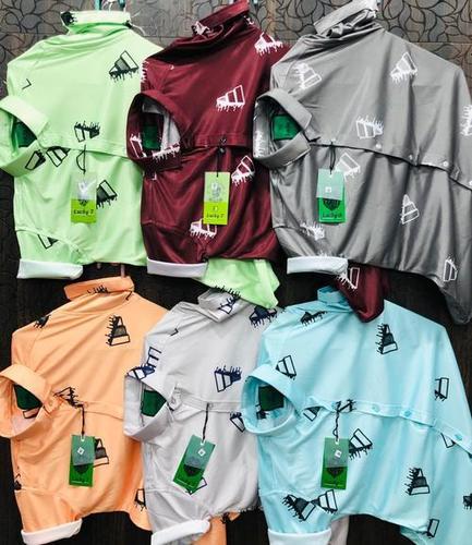Mens Lycra Printed Shirts