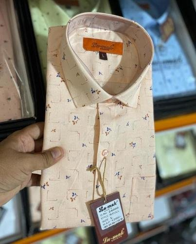 Mens Party Wear Shirt Collar Style: Classic
