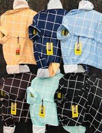 Mens Lycra Casual Shirt