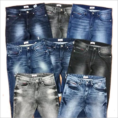 3 Colors Mens Plus Size Jeans