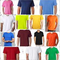 Mens Cotton Lycra T-Shirts