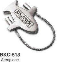 Metal Airoplane Keychain