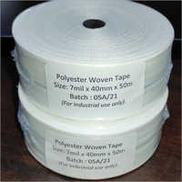 7 mil x 40mm x 50m Polyester Woven Tape