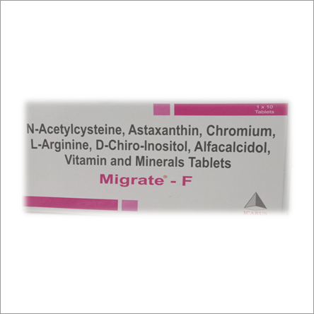 N-Acetylcysteine Astaxanthin Vitamin And Minerals Tablets