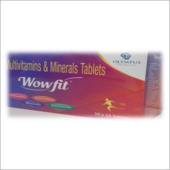Multivitamins Multiminerals Tablets