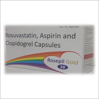 Rosuvastatin Aspirin And Clopidogrel Capsule