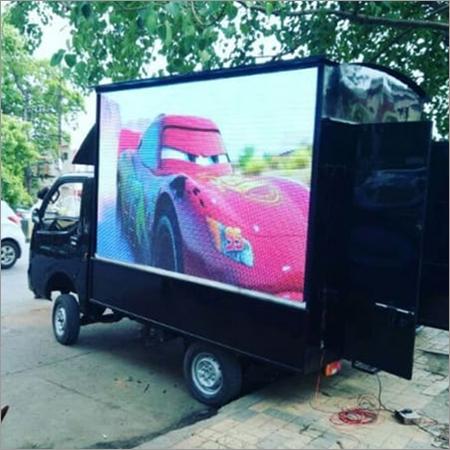 Vehicle Mount LED Display Screen
