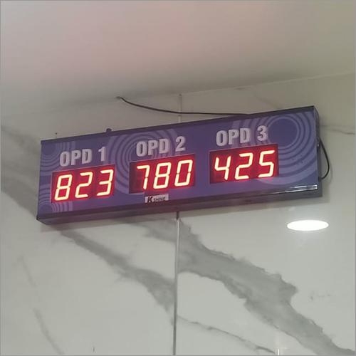 Single Display Token Display Machine