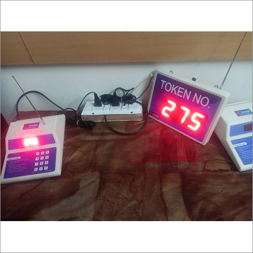 Wireless Token Display System