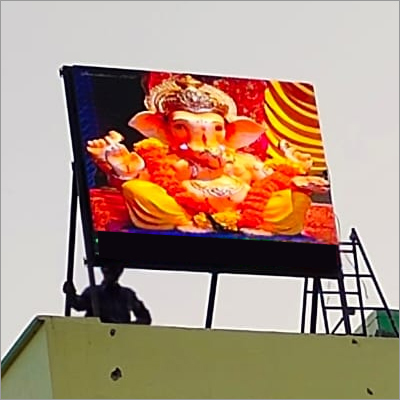 Roof Mount Advertising Led Video Wall Screen