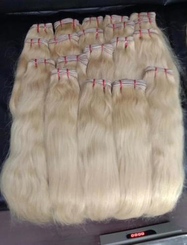 Blond Virgin Hair