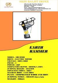 GX160 TEMPING RAMMER