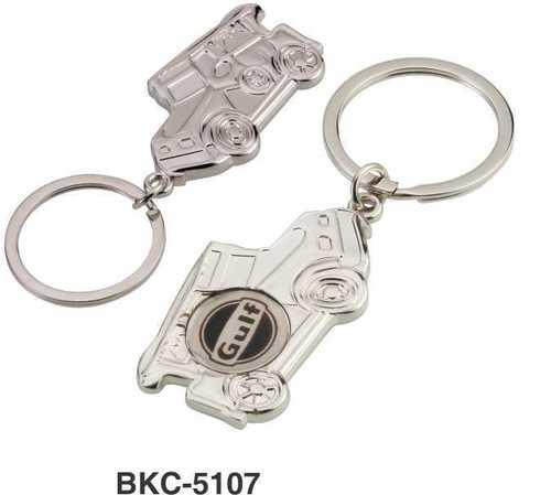 Metal Jeep Keychain
