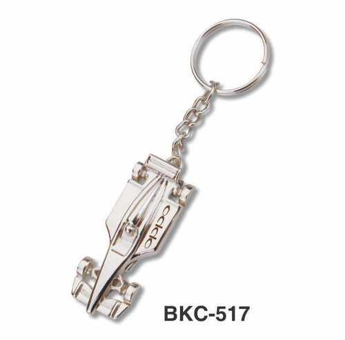 Metal Racing Car Keychain