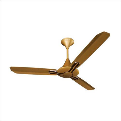Golden Brown Ceiling Fan