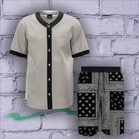 Ladies Loose Shirt And Bandhana Shorts